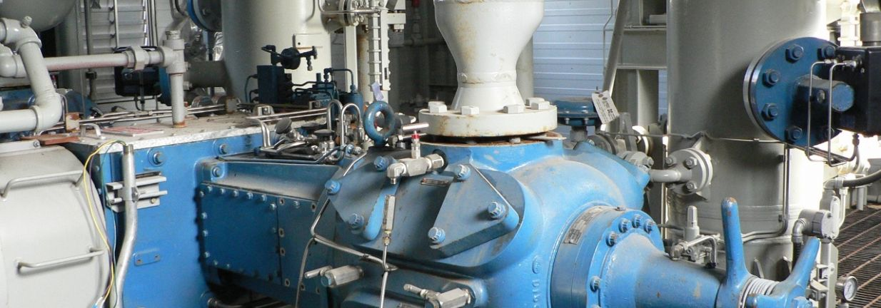 Surplus New Natural Gas Compressor Package